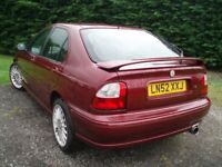 MG ZS 180, 2.5 V6, Mot 1 year, 0-60 in 7.3 secs!