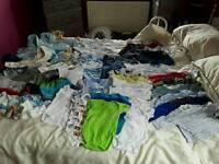 Boys Baby Clothes Bundle (size 3 - 6 Months)
