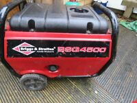 Multi fuel generator Gas & not sure if Deisel or petrol. Briggs & Stratton 4500