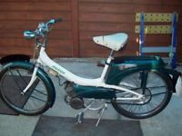 Classic 1964 Raleigh Runabout Moped