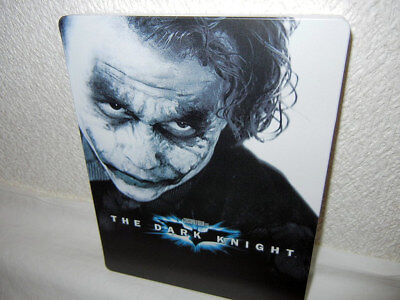 USED The Dark Knight Batman Joker SteelBook Blu-ray Limited Japan