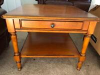 Coffee table/occasional Table cherry teak