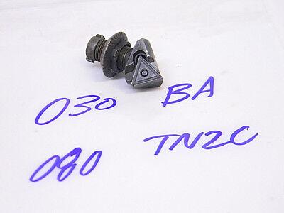 Used Devlieg Microbore Boring Cartridge 030-ba080-tn2c Carbide Inserts Tnmg-221