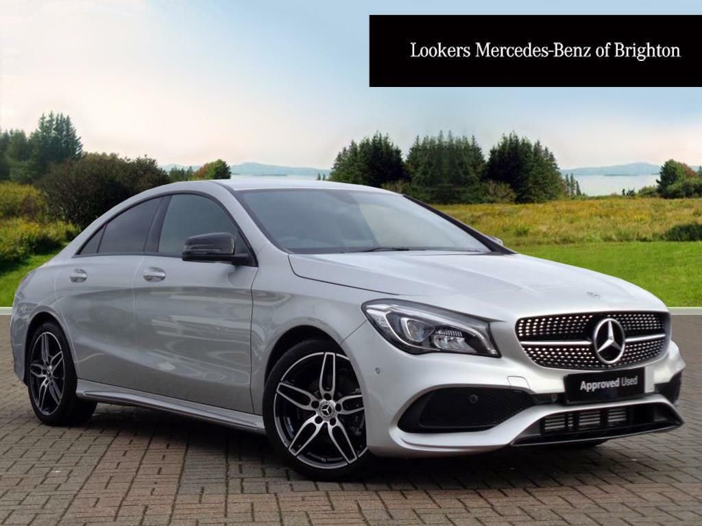 mercedes benz cla cla 180 amg line silver 2018 01 31. Black Bedroom Furniture Sets. Home Design Ideas