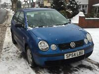 VOLKSWAGEN POLO 2005 1.2 PETROL** VERY RELIABLE** LOW MILEAGE**
