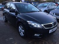 KIA Cee'D 1.6 2 5dr£3,495 p/x welcome FREE 12 MONTH WARRANTY,NEW MOT, FINANCE AVAILABLE, P/X WELCOME