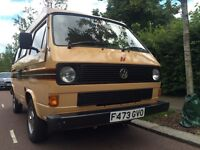 STUNNING VW T25 REDUCED BY A WHOPPING £1,500 FROM £13,998 TO £12,498 STUNNING NEW LEATHER INTERIOR