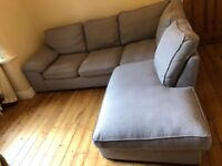 Corner sofa - Cargo Sofa, very good condition, non smokers and no pets. Selling due to house move.