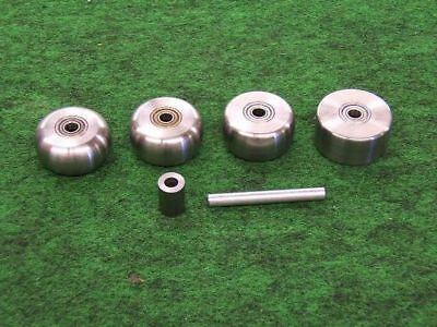English Wheel Narrow Anvil 4 Piece Set - Planishing Hammer Pullmax- Made In Usa