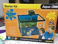 Aqua One Fish Tank Aquarium 21L