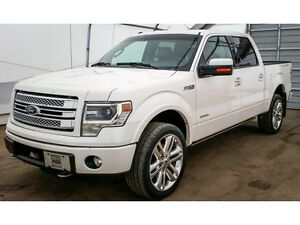 2013 Ford F-150 SuperCrew 4X4 Limited 145""