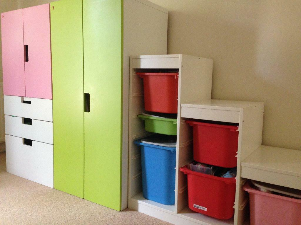 ikea stuva storage n wardrobe moving sale in kingston london gumtree. Black Bedroom Furniture Sets. Home Design Ideas