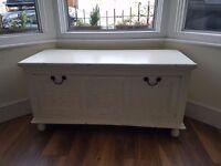 Solid Hardwood Toy Chest / Storage Box / Blanket Box