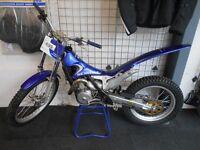 2001 Scorpa Trials 250cc Motorbike