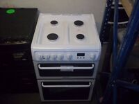 Hotpoint HAG60P White 600Wide Double Gas Oven New unboxed