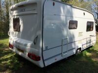 Ace Dawnstar 2006 Tourer,with Porch & Full Awnings, Motor Mover, Waste & Water Carriers, Gas Bottle for sale  Norwich, Norfolk