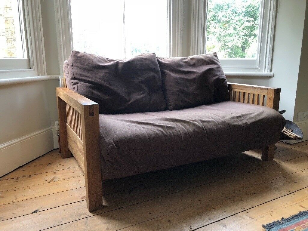Solid Oak Double Futon Company