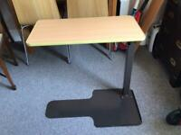 Over chair table