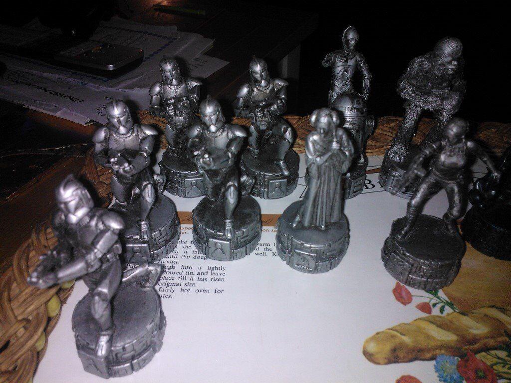 some starwars figures