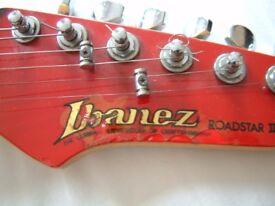 Ibanez RG140 Roadstar II series electric guitar - Japan - '80s - Red