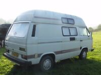 VW T25 Holdsworth Villa 3, F Reg, Low Mileage, Fridge, Hob, Sink Unit, RocknRoll bed, Zig unit ,