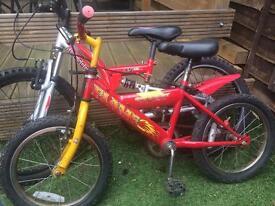 Child bike size 16