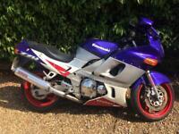 Kawasaki ZZR600 ZZR 600 E 1995 32k purple silver