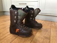 Men's Forum 'Destroyer' Snowboard Boots UK8