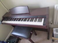 Full size Roland Electric Piano (inc leather stool)