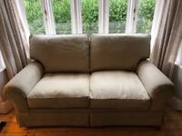 Laura Ashley Sofa. Large two seater. From pet and smoke free home.