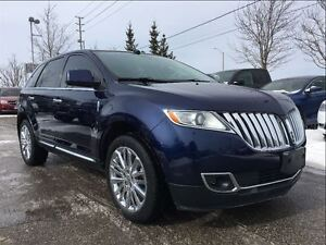 2011 Lincoln MKX AWD**LEATHER**NAVIGATION**SUNROOF**