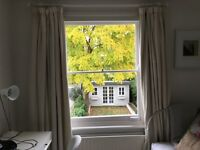 collection only john lewis cream/magnolia curtains