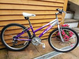 "Girls 13"" Raleigh Krush Bike with 24"" aluminium wheels"