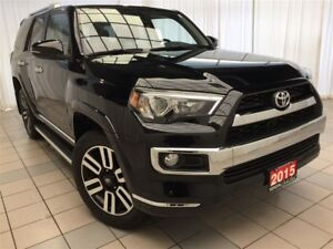 2015 Toyota 4Runner Limited w/ Leather, Navigation & Moonroof