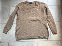 Ralph Lauren cashmere jumper ladies size S