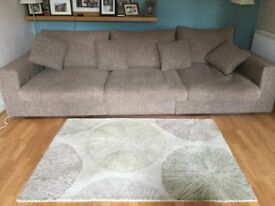 large 5 seater and chair