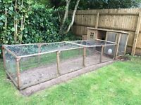 Chicken coop and extension