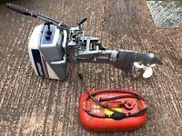 Evinrude 4.5hp 2 stroke Outboard motor