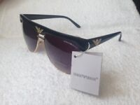 Emporio Armani Sunglasses Black with Box
