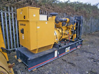 2002 Caterpillar 250F, 225Kva generator,15727hrs,6cyl Caterpillar engine