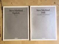 Steve Martland - Contemporary Piano Scores - Kgakala / Drill