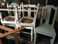 Wooden Chairs x5 - Free