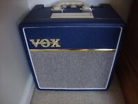 VOX AC4-C1 Guitar amplifier in blue (Immaculate)!