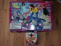 PS2 Dance Maker Mat + Game