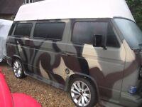VW. Volkswagen. T25. Camper. DIESEL. future Rat? Surf. Surfing. Lowered. Wild camper?