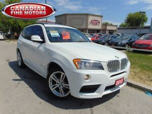 2013 BMW X3 35I M SPORT PACKAGE-NAVI
