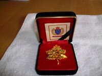 Vintage Trifari's Gold Plated Brooch