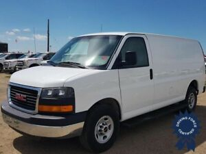 "2016 GMC Savana 2500 135"" WB Cargo Van, Cloth Seats"