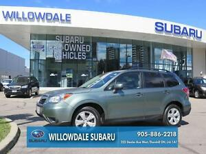2014 Subaru Forester 2.5i Convenience Automatic Off Lease One Ow