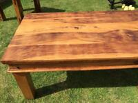 Solid wood Oak tables x2 for sale £150